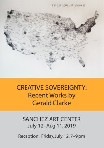 CREATIVE SOVEREIGNTY: Recent Works by Gerald Clarke ~ Bronze Sculpture to Paintings and More @ Sanchez Art Center | Pacifica | California | United States