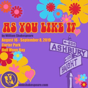 As You Like It Presented by the Half Moon Bay Shakespeare Company @ Carter Park