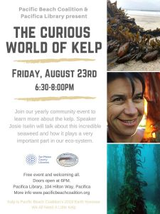 The Curious World of Kelp Presented at the Pacifica Library @ Pacifica Sharp Park Library (near the pier) | Pacifica | California | United States