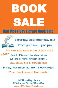 Friends of the Half Moon Bay Library Book Sale @ Half Moon Bay Library | Half Moon Bay | California | United States