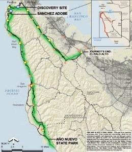 Primary Record of History of the Ohlone-Portola SF Bay Discovery Trail