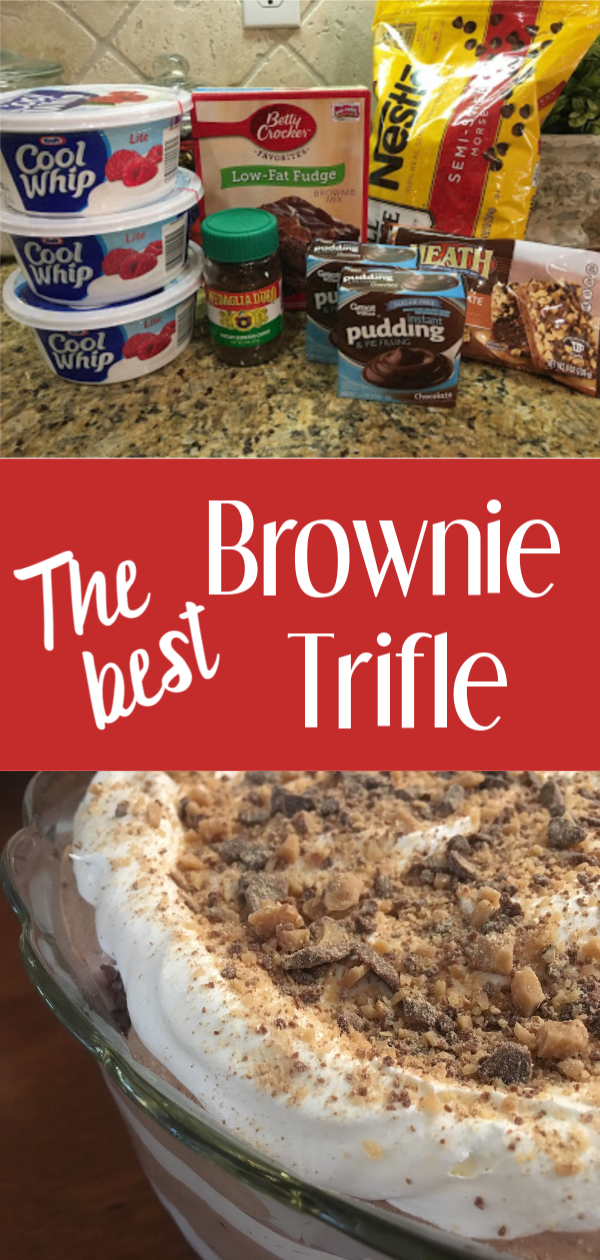 The Best Brownie Trifle, Coast to Coast