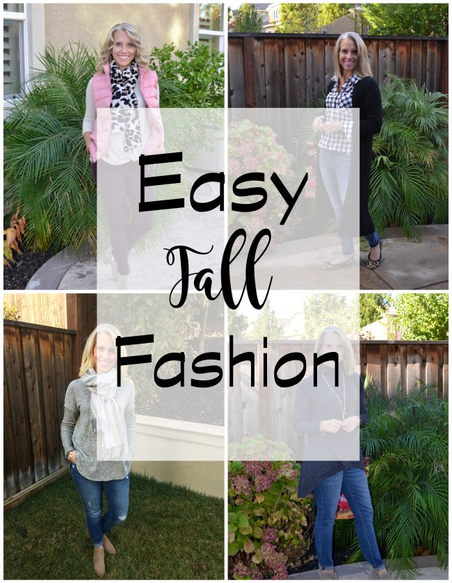 Fall Fashion, Easy Fall Fashion, Fall Outfit Ideas