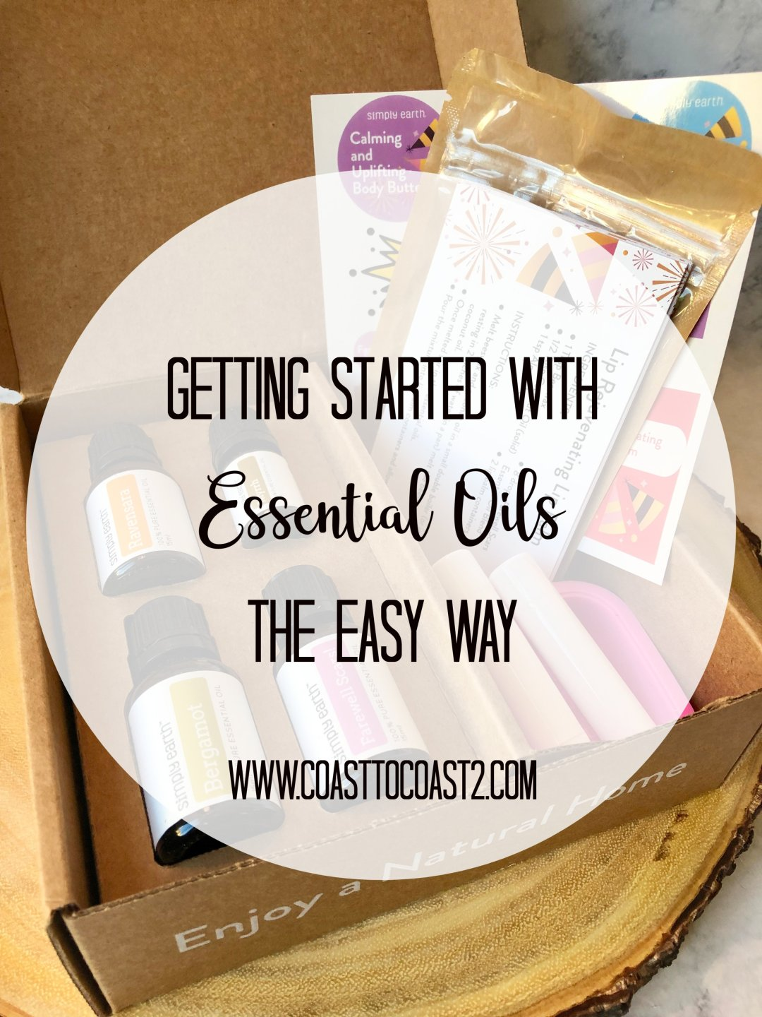 Getting started with essential oils the easy way