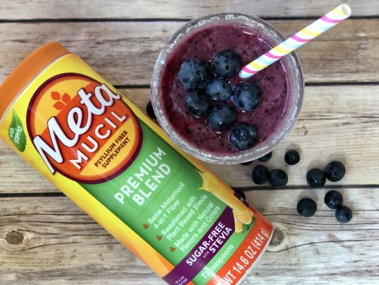 Very Berry Smoothie with Metamucil