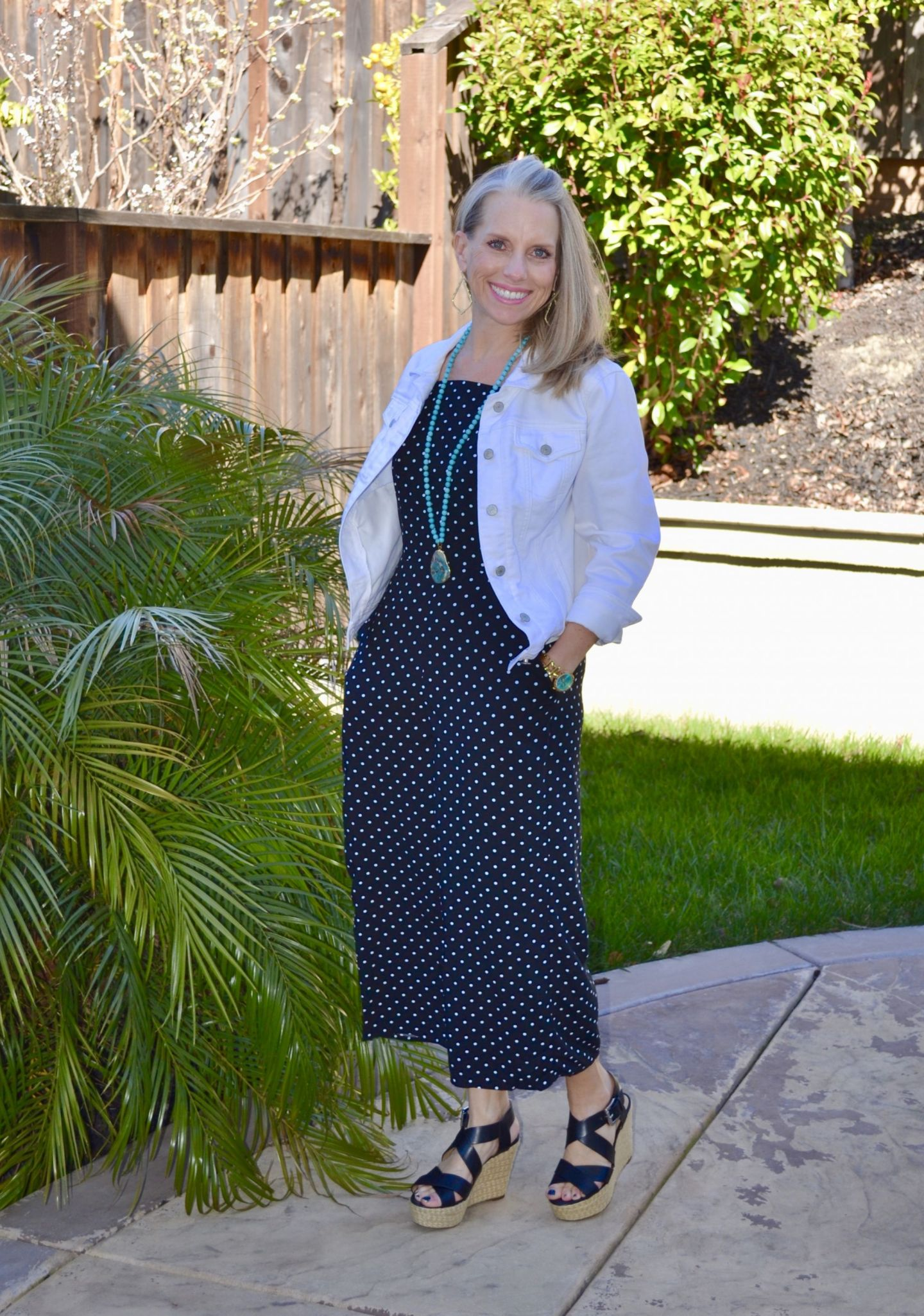 Polka Dot Jumpsuit from Old Navy