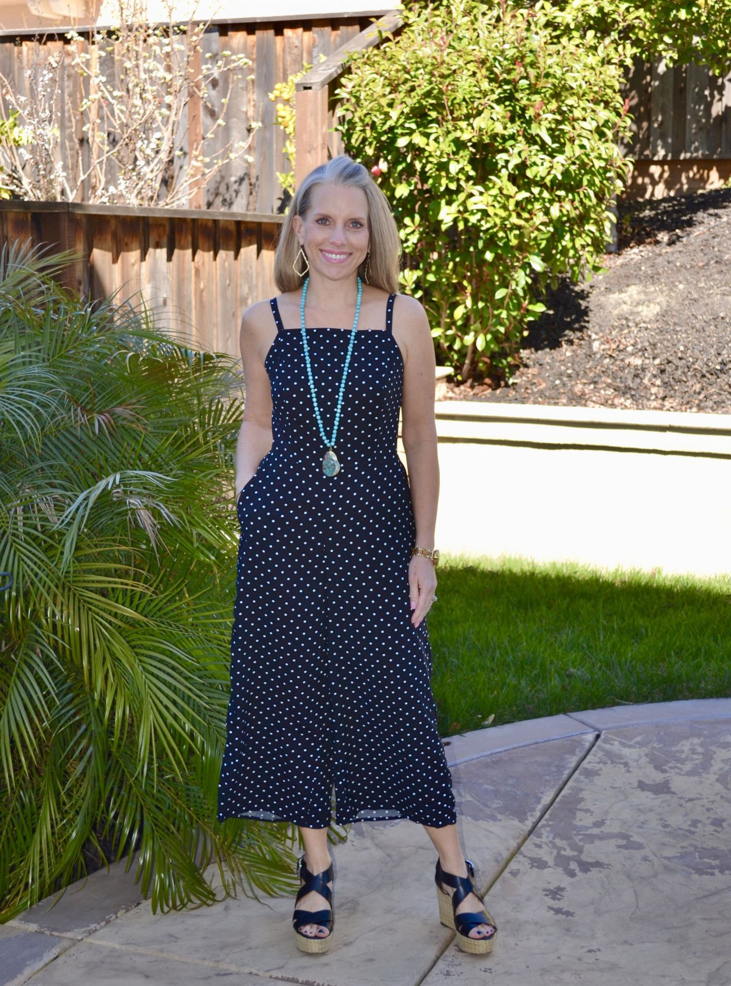 Old Navy Polka Dot Jumpsuit