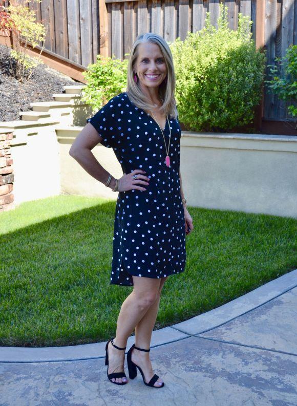 Target Polka Dress