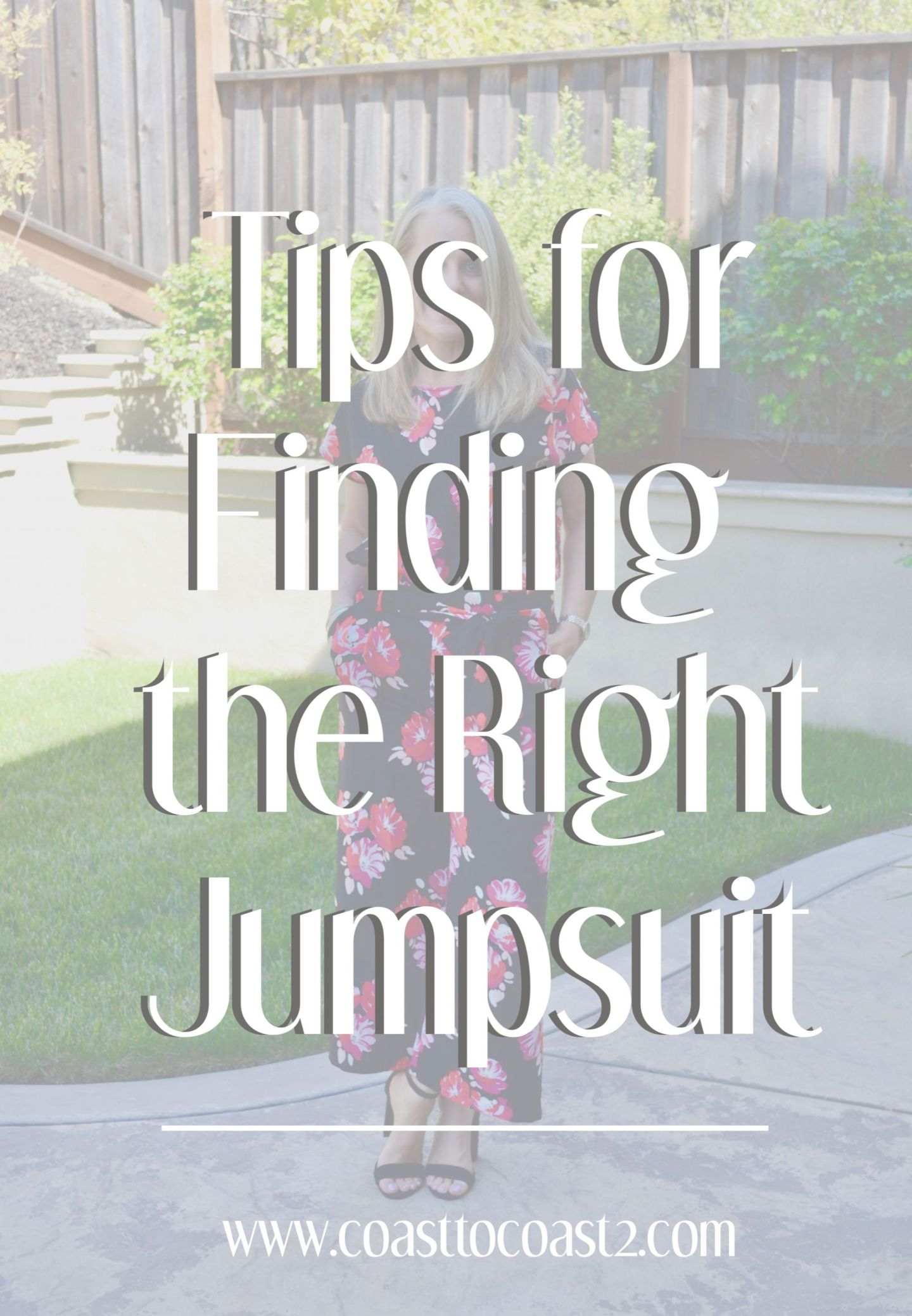 Tips for Finding the Right Jumpsuit