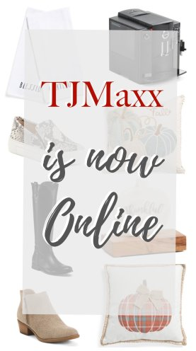 TJMaxx is now online