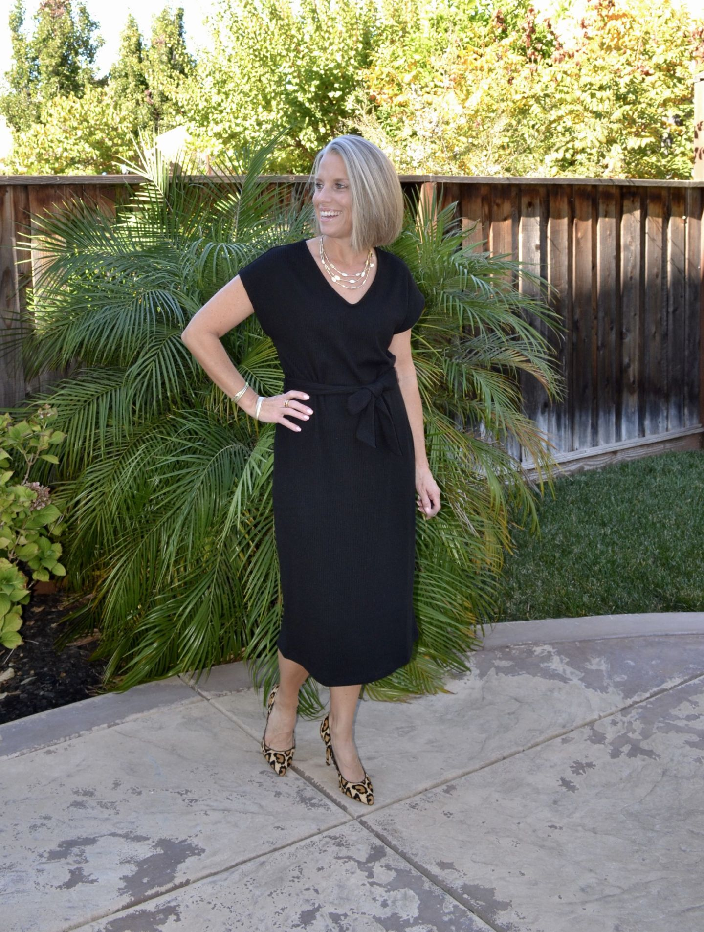 The Perfect Black Dress and Style Six Link Up