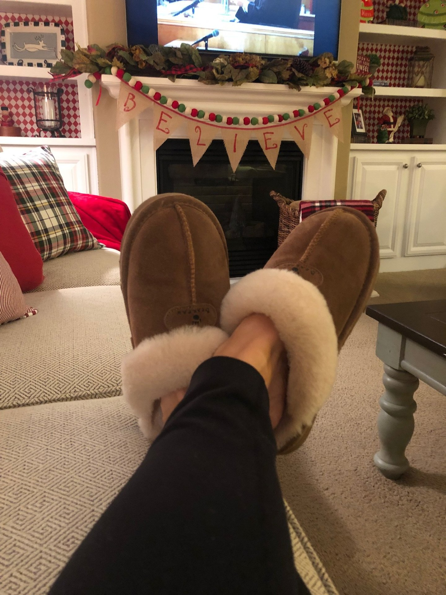 Bearpaw slippers, what I'm loving lately