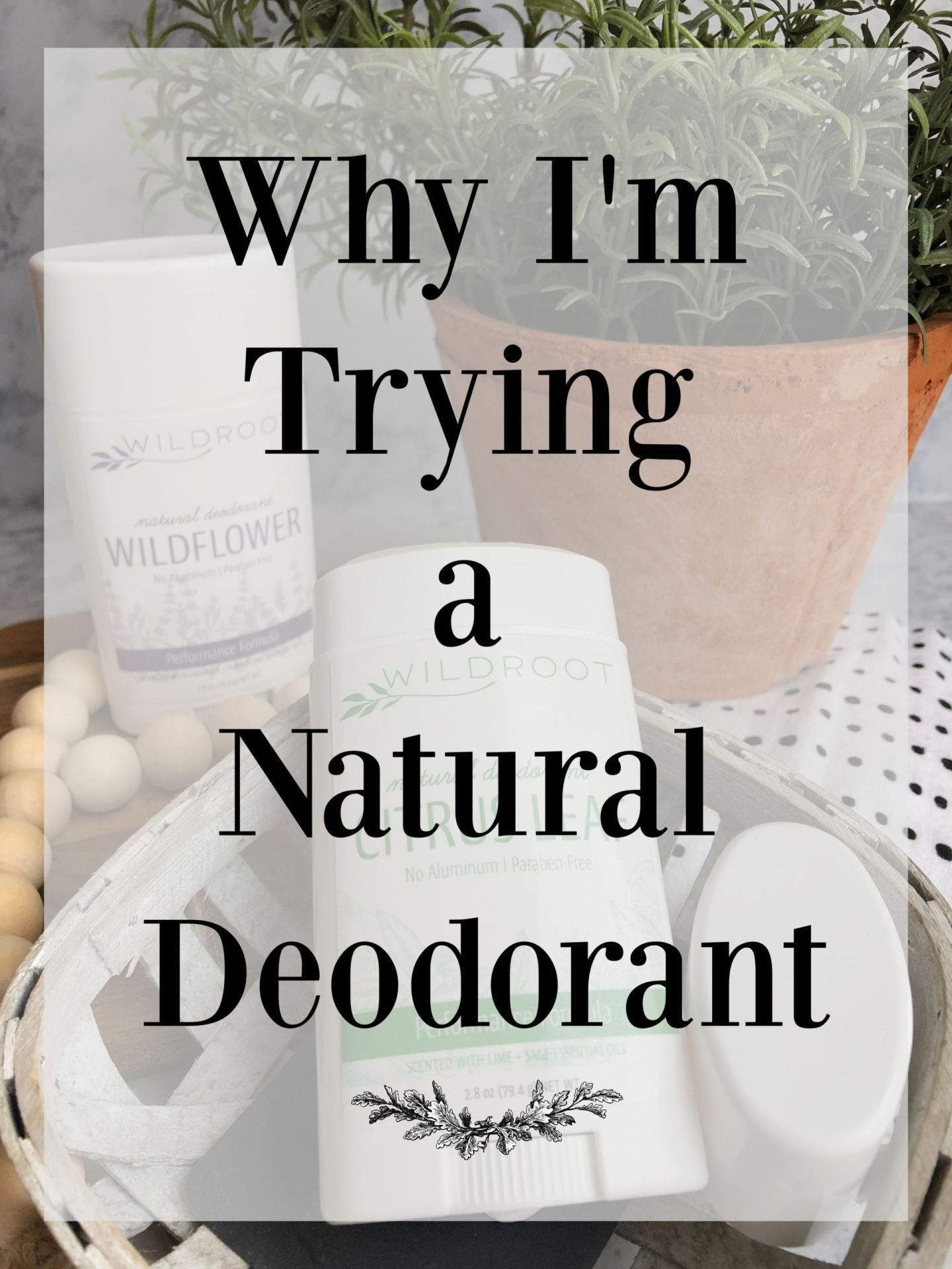 Why I'm Trying a Natural Deodorant