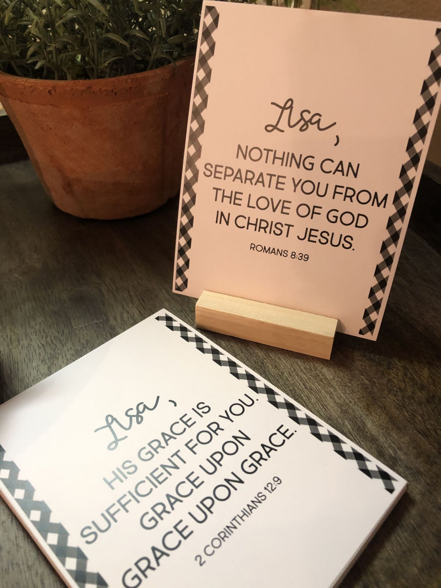 Scripture Cards, Coast to Coast