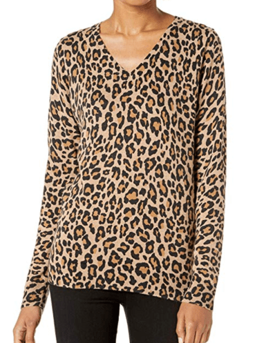 Leopard Sweater, Amazon
