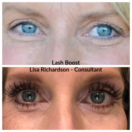 Lash Boost results