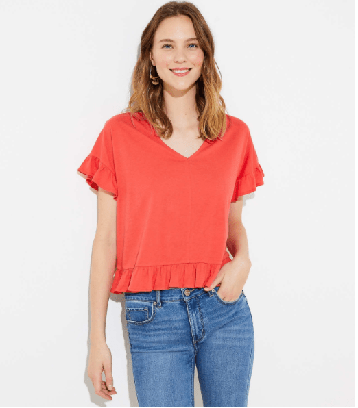 Flutter Tee, Coast to Coast Top Seller