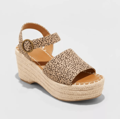 Cheetah Espadrilles, Coast to Coast