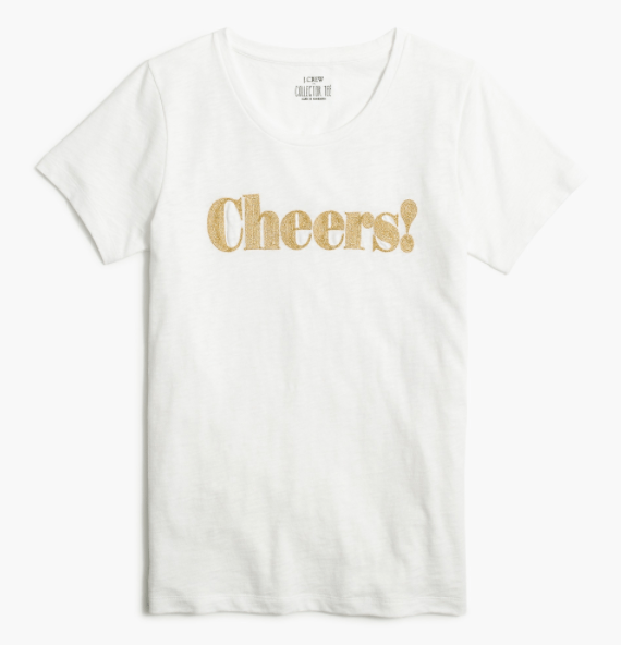 Cheers Graphic Tee, November's Top Sellers