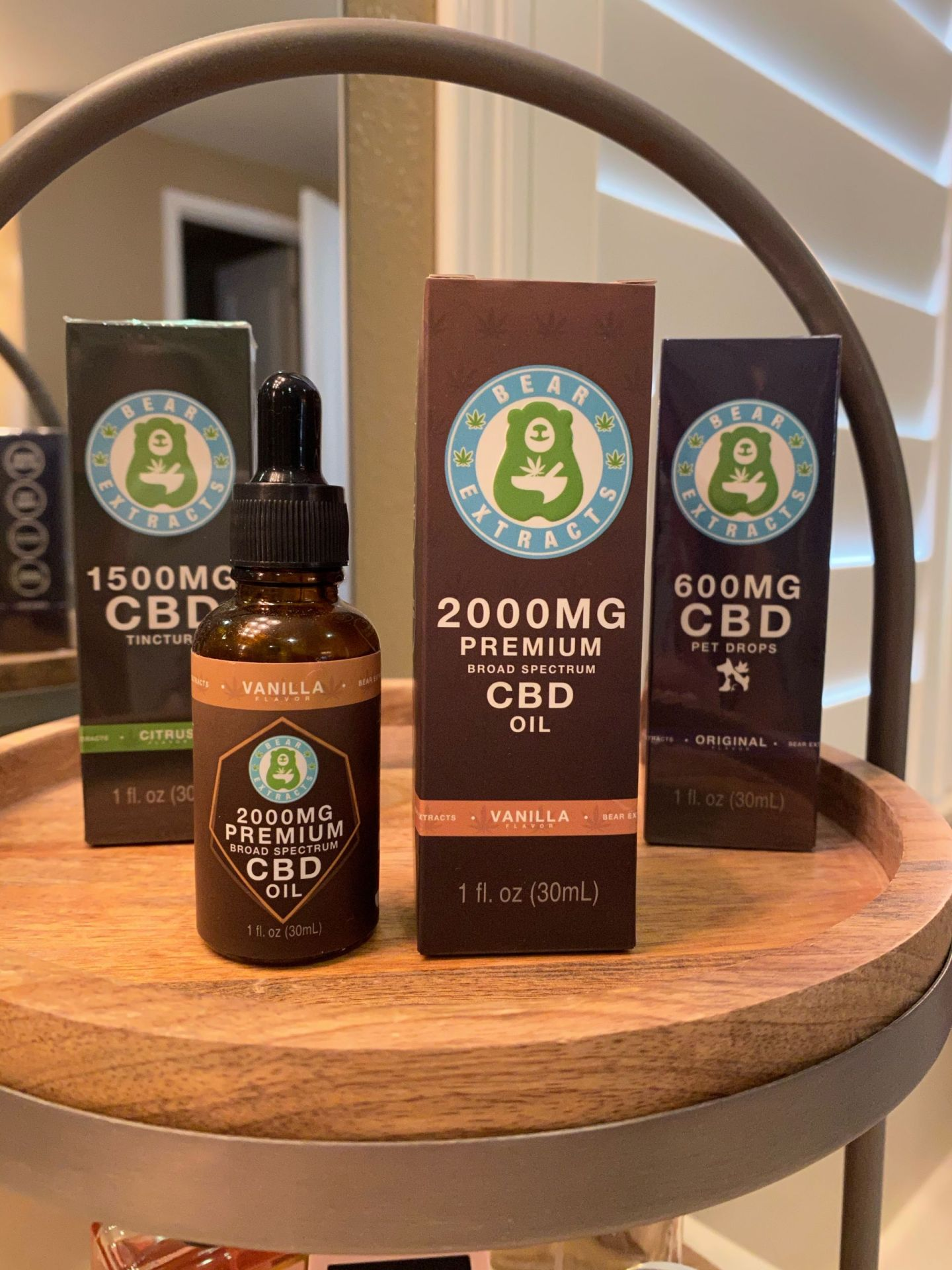 BearX CBD oil Nutrition supplement