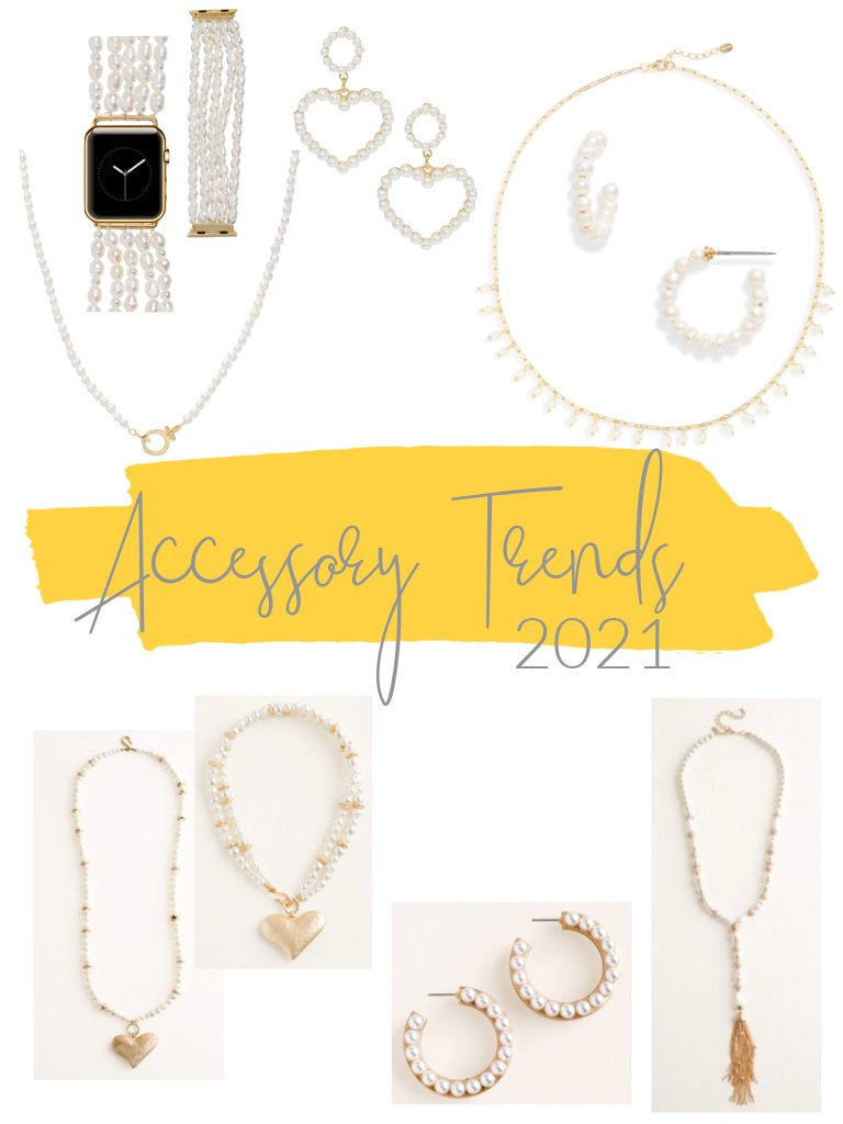 Accessory trends 2021 pearls