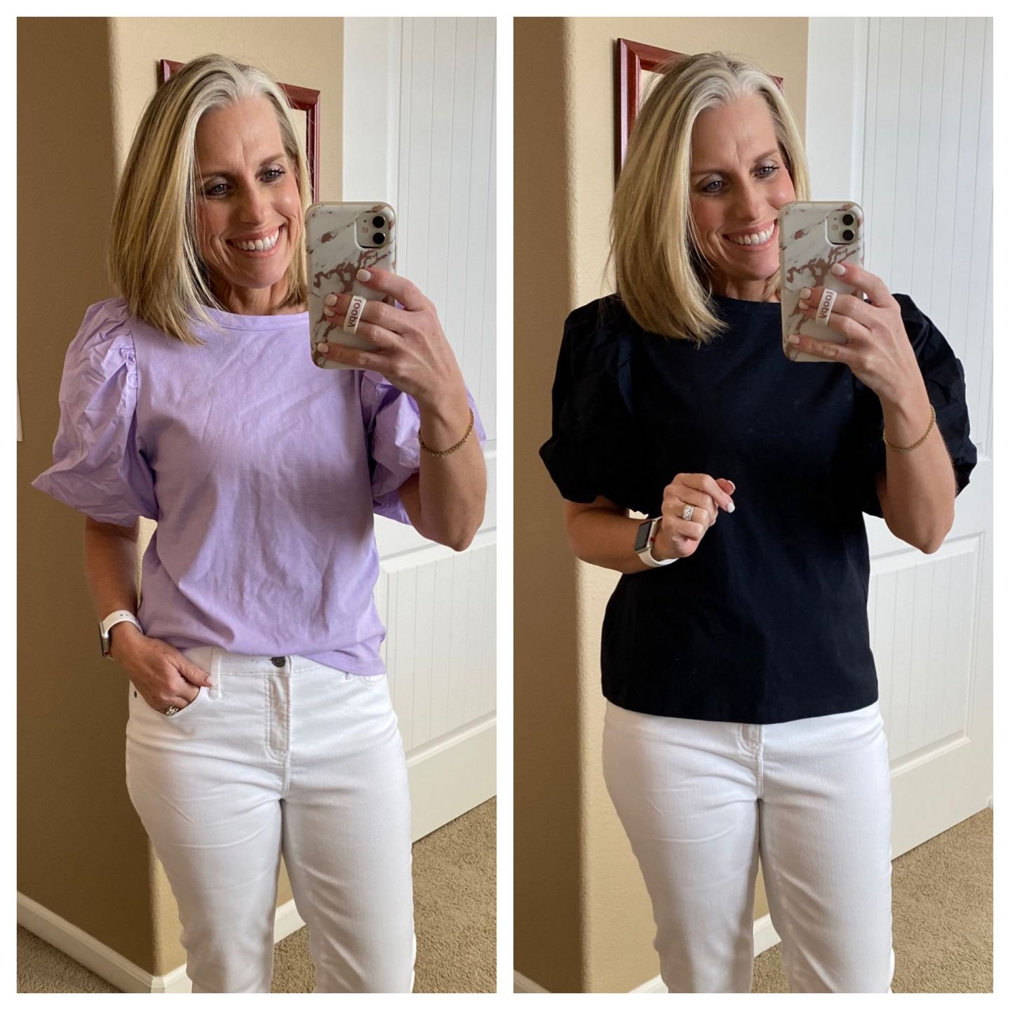 Target puff sleeve top - March top 10