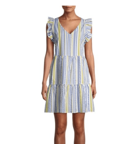 Walmart flutter sleeve dress - March top 10