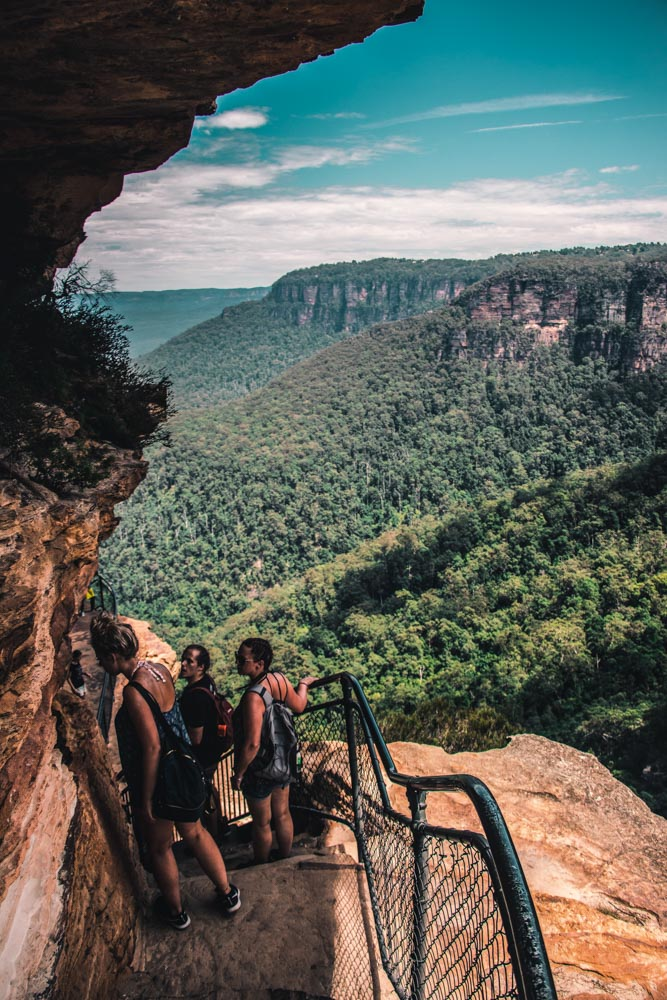 Blue Mountains Aussie Backpacker Tour