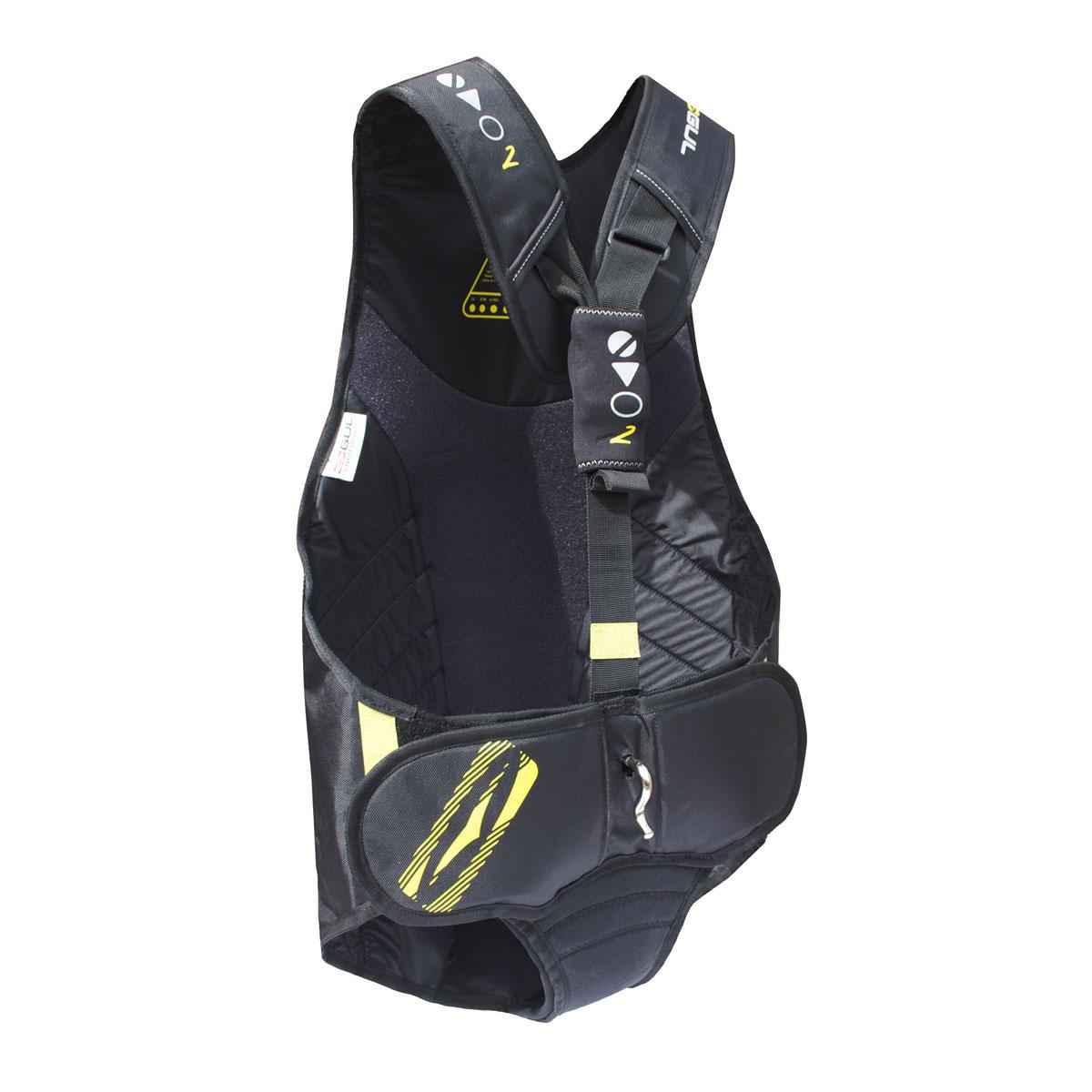 Gul EVO2 Trapeze Harness 2018  Black  Coast Water Sports