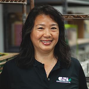 Close up photo of Sophia Wong