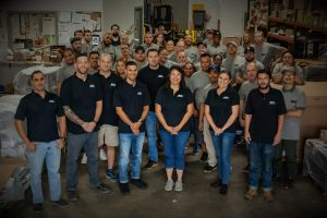 A Group Photo of the Team at Coating Systems Group