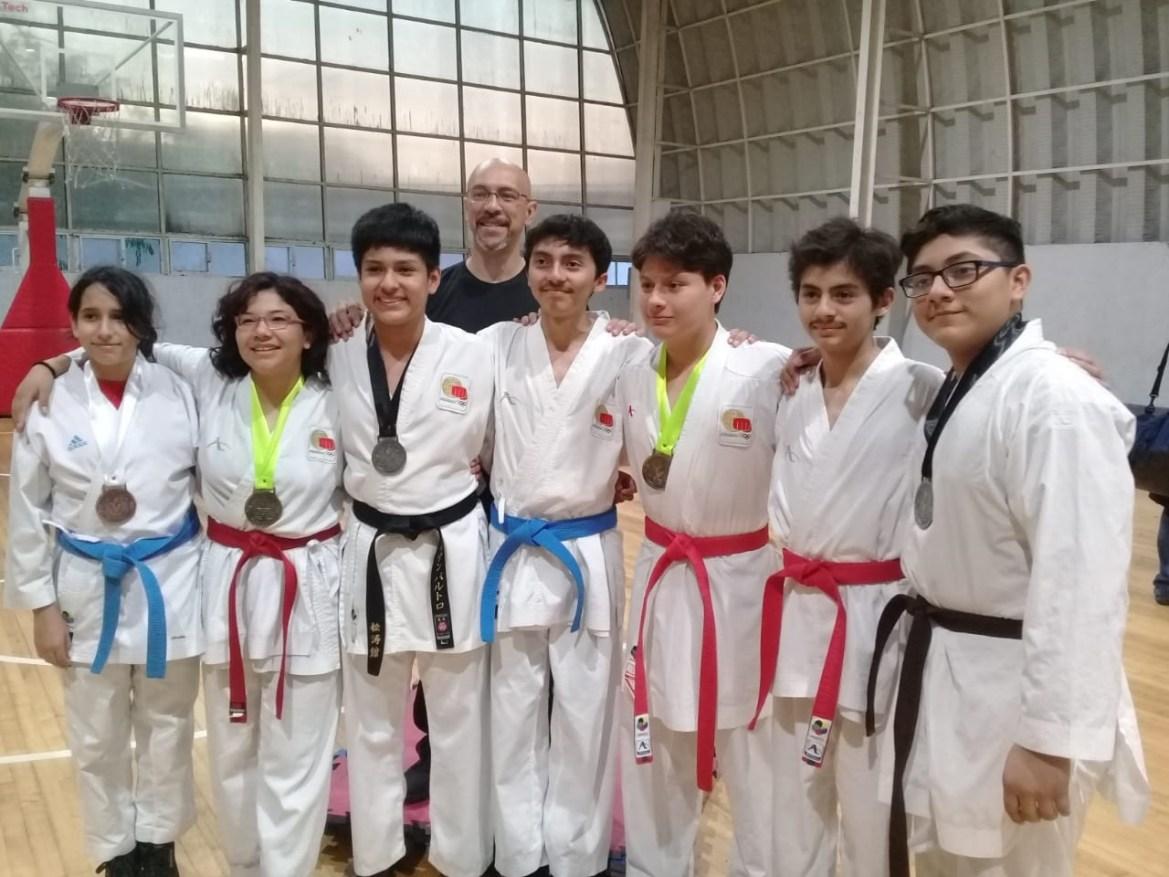 Karatekas porteños pasan a la siguiente etapa de los juegos CONADE 2020