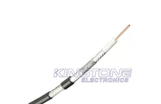 None Plenum CM Rated RG6 Quad Shield 75 Ohm Coaxial Cable