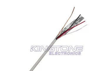 Shielded 0.22mm2 Security Alarm Cable Stranded Conductor