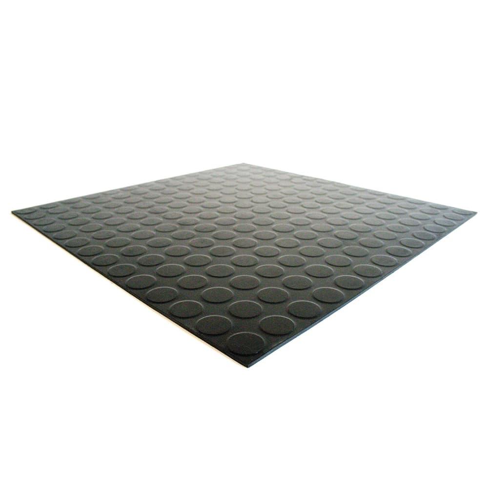 Studded Tile Rubber Tile Flooring  COBA Flooring
