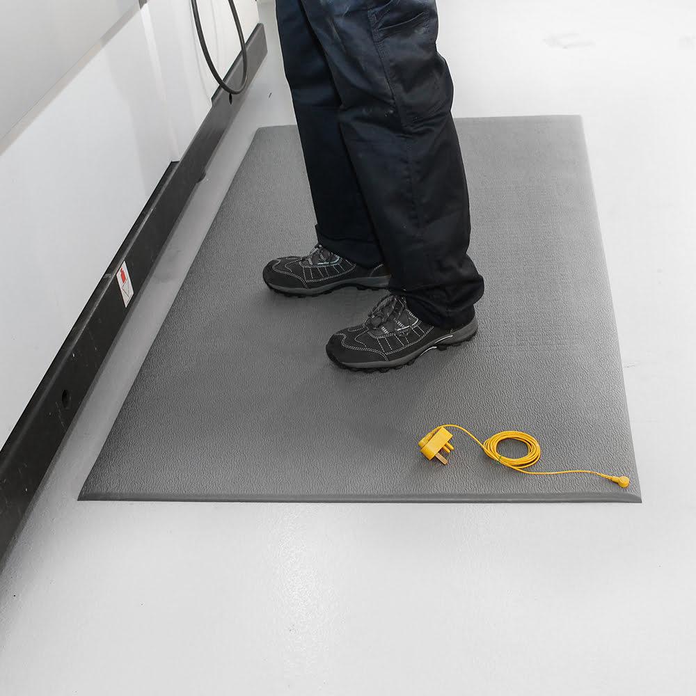 static dissipative anti fatigue mat