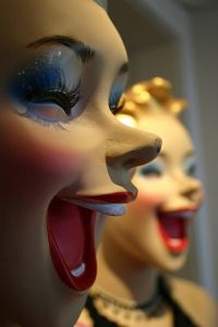 laughing mannequins full of evil