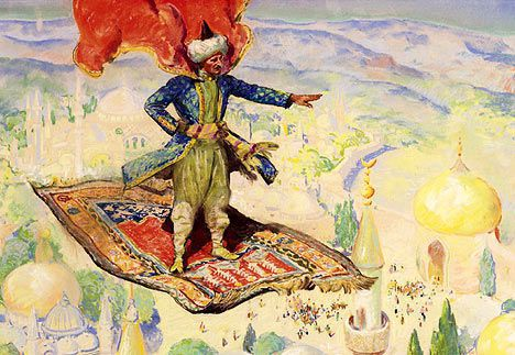 A magic carpet ride