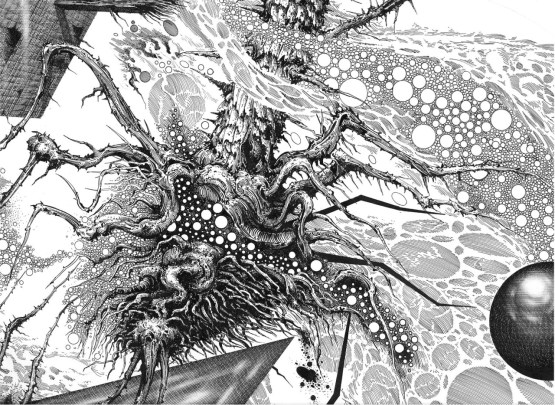 Azathoth, by Ian Miller