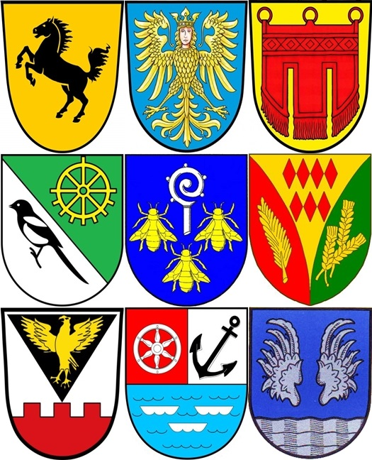 Crests of German cities