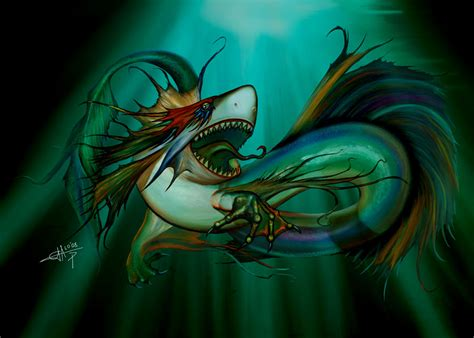 dragon-shark hybrid