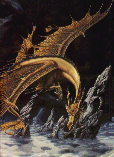 Steve Weston, cover for Dragondrums, British edition