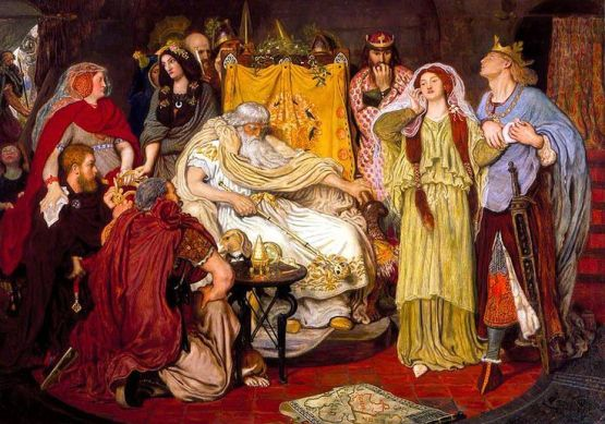 Cordelia's Portion, by Ford Madox Brown, another pre-Raphaelite.
