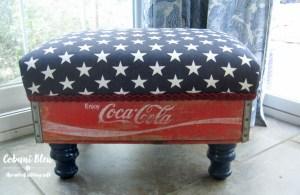Coke Crate Stool
