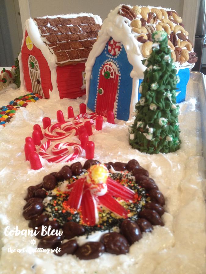 Gingerbread Firepit