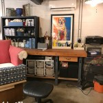How to Turn a Garage into a Creative Space – aka She Shop