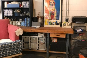 How to Turn a Garage into a Creative Space – aka She Shop