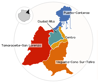 distrito de Tamaraceite-San Lorenzo