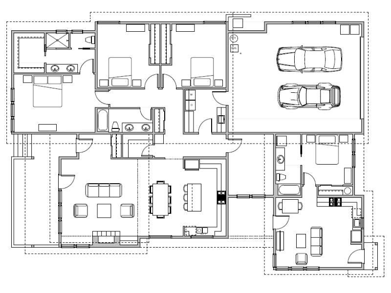 built by JD Neel Construction, 3570 SE 45th, Redmond, Oregon