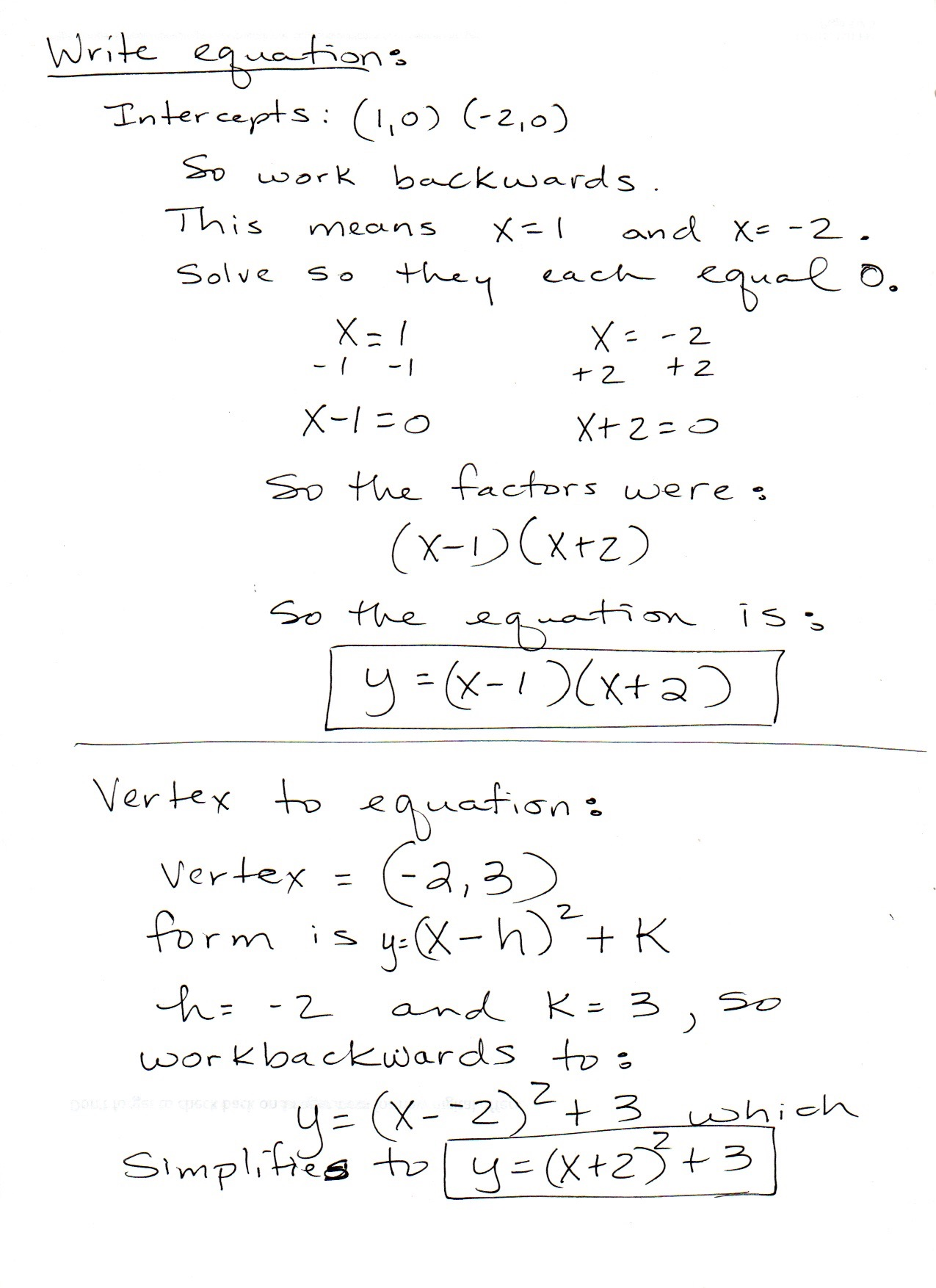 Solving Quadratic Equations By Factoring Worksheet